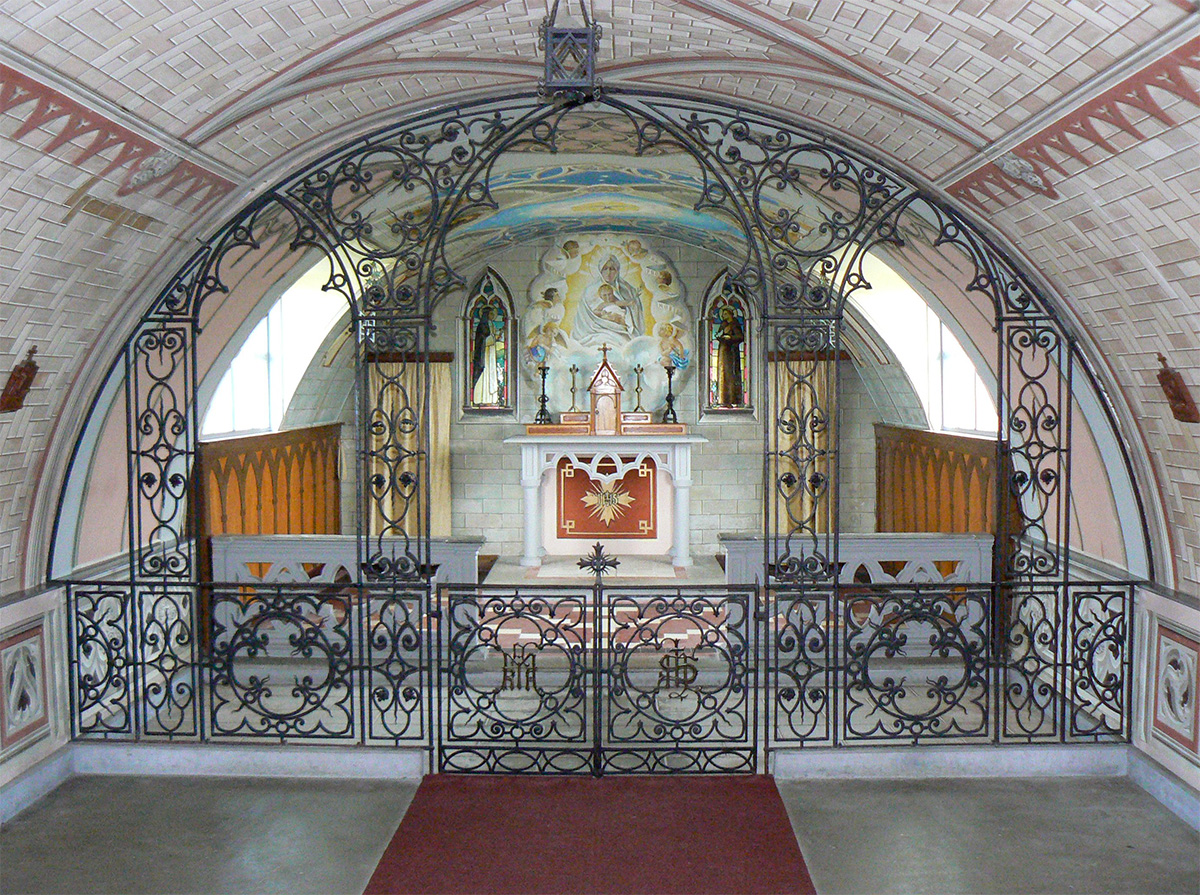 Orkney Chapel Interior